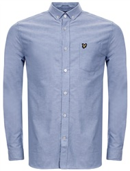 Lyle & Scott Blue Fitted Shirt