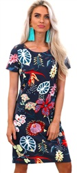 Vila Total Eclispe Tinny Floral Dress