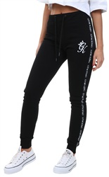 Gym King Black Joggers