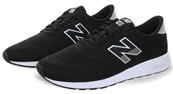 New Balance Black Mlr 420 Lace Up Trainer