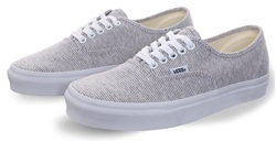 Vans Grey/True White Trainer