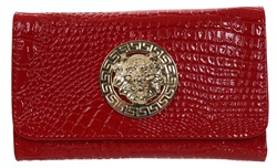 Gessy Red Patent Purse