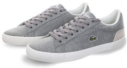Lacoste Grey/Natural 218 Lerond Trainer