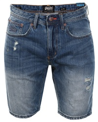 Superdry Quarry Used Officer Slim Short