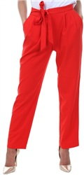 Only Flame Scarlett Michelle Tie Trouser