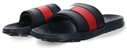 Hilfiger Denim Navy Sliders