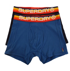 Superdry Voltage Blue/Dark Navy Cali Sport Double Pack