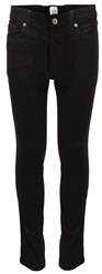 Enzo Black Stretch Skinny Jeans