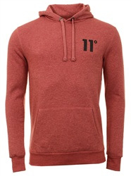 11degrees Rust Pink Core Hoody
