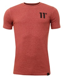 11degrees Rust Pink Core Tee