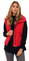 Tokyo Laundry Red Padded Gilet