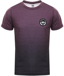 Hype Mulberry Fade Crest Tee