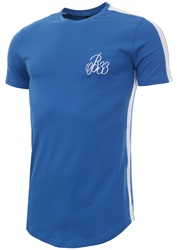 Bee Inspired Palce Blue/White Andres Tee