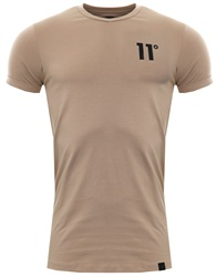11degrees Light Brown 11d Core Muscle Tee