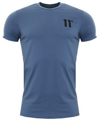 11degrees Blue Stone 11d Core Muscle Fit Tee