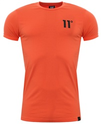 11degrees Red Salmon 11d Core Muscle Fit Tee