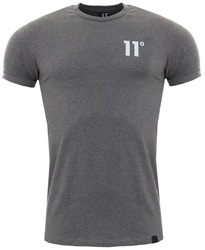 11degrees Charcoal 11d Core Mucsle Fit Tee