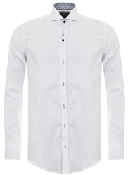 Fratelli White Plain Shirt