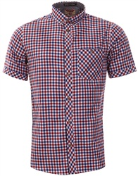 Tokyo Laundry Red Check Short Sleeve Shirt