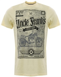 Sth Shore Yellow Short Sleeve Uncle Franks T-Shirt