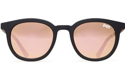 Superdry Rubberised Black/ Pink Mirror Sdr Cassiesun Sunglasses