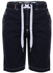 Superdry Darkest Navy Panel Boardshorts