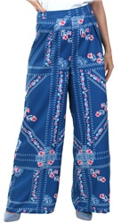 Parisian Blue Wide Leg Trouser