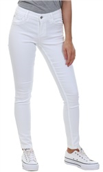 Only White Ultimate King Low Rise Skinny Jean