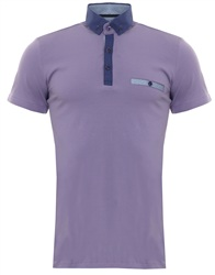 Ottomoda Lilac Polo Shirt