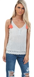 Only Cloud Global Dis Marika Cami Top