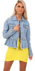 Brave Soul Denim Kennedy Denim Jacket