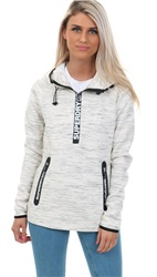 Superdry Neon Nep Gym Tech Half Zip Hoodie