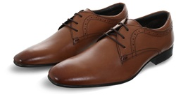 Ikon Tan Pullman Lace Up Shoe