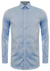 Selected Light Blue Done New Mark Shirt
