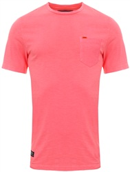 Superdry Dry Shock Pink Dry Originals Pocket T-Shirt