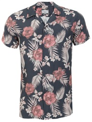 Siksilk Navy Resort Shirt
