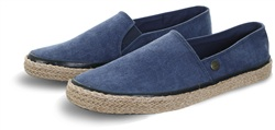 Superdry Navy Washed Canvas Adam Espadrille