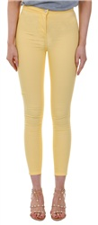 Parisian Yellow Skinny Jegging