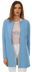Vila Allure Naja Long Collarless Jacket