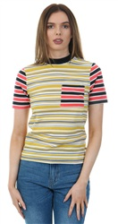 Daisy St Multi Stripped Core Tee