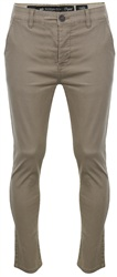 Crosshatch Timber Wolf Chinor Chino