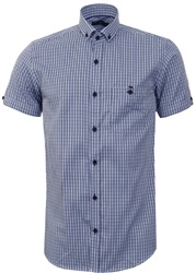 Ottomoda Blue Check Shirt