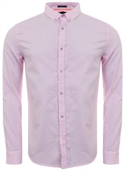 Superdry Pink Basket Stripe Premium Button Down Shirt