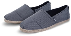Superdry Fine Stripe Navy Jetstream Espadrilles