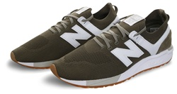 New Balance Covert With White 247 Engineered Mesh Trainer