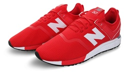 New Balance Cerise With Steel 247 Decon Trainer