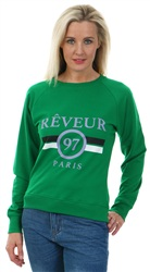 Daisy St Green Reveur Core Sweater