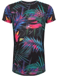 Scar Tissue Black Tropical Tee