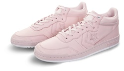 Converse Barely Rose/White Fastbreak Leather Mono Lux