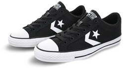 Converse Black/White Star Player Trainer